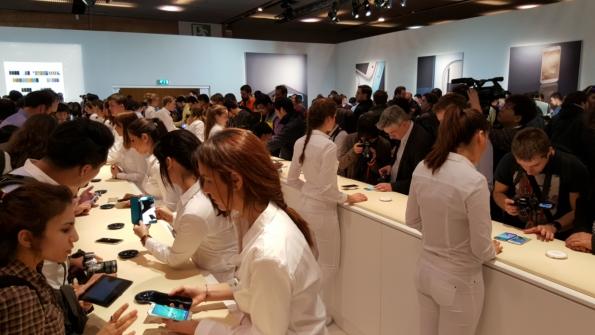 Примеры снимков с камер Samsung Galaxy S6