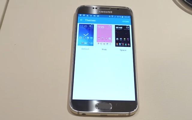 Обзор пользовательских тем в Samsung Galaxy S6