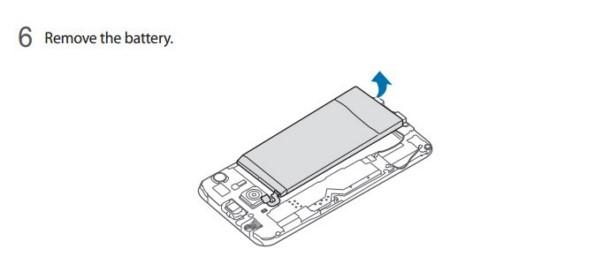Как заменяется аккумулятор в Galaxy S6