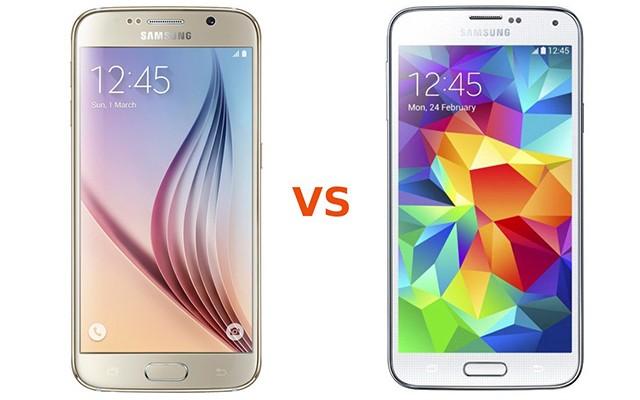 Сравнение Samsung Galaxy S6 и Galaxy S5 на инфографике