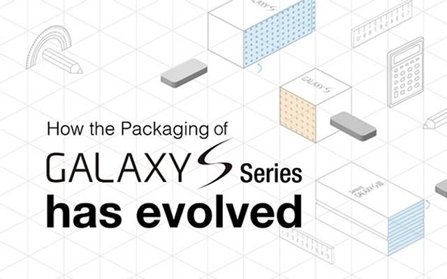 Эфолюция линейки Samsung Galaxy S на инфографике