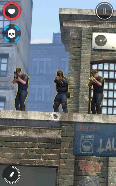 All Guns Blazing – преступная вселенная для Samsung Galaxy S6, S5, S4, Note 3, Note 4