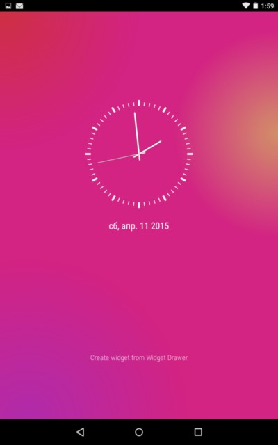 Art Clock – интересные часы для Galaxy S6, S5, S4, S3, Note 3, Note 4, Ace 2