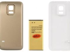 Ёмкий аккумулятор на 6500 мАч на Samsung Galaxy S5 Mini