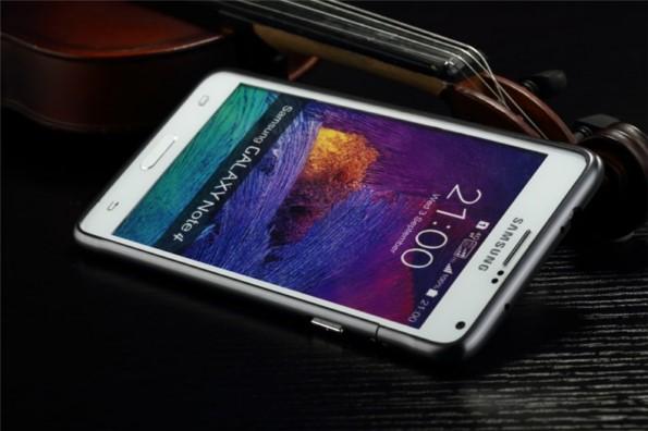 бампер из алюминия для Samsung Galaxy Note 4