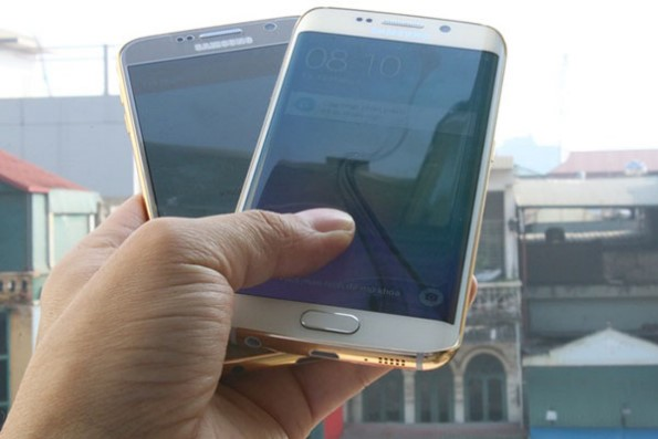 Samsung Galaxy S6 и S6 Edge покрыты золотом