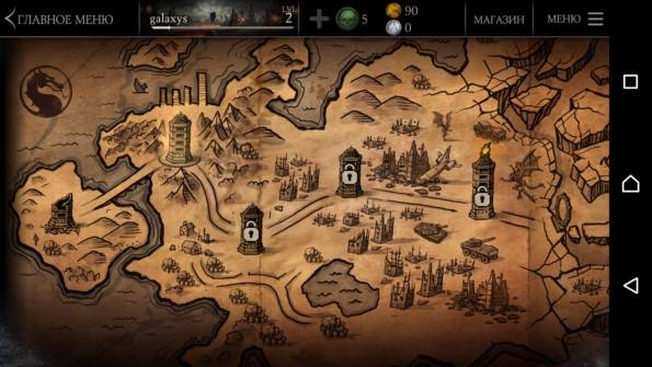 Mortal Kombat X – битва началась для Samsung Galaxy S6, S5, S4, Note 3, Note 4