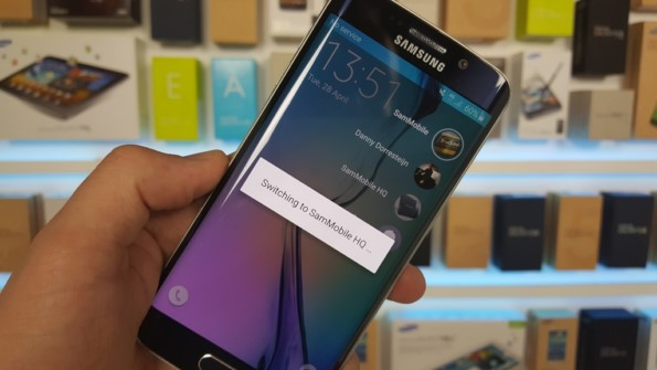 Android 5.1.1 выходит на Samsung Galaxy S6 Edge