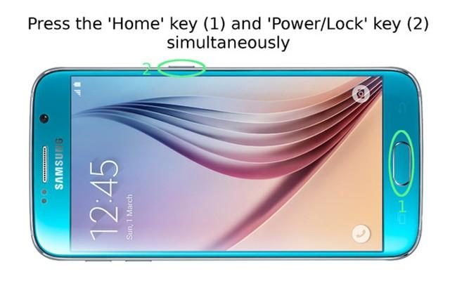 Samsung Galaxy S6 и S6 Edge - как сделать скриншот экрана