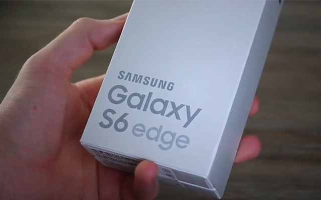 Видео распаковка Samsung Galaxy S6 Edge