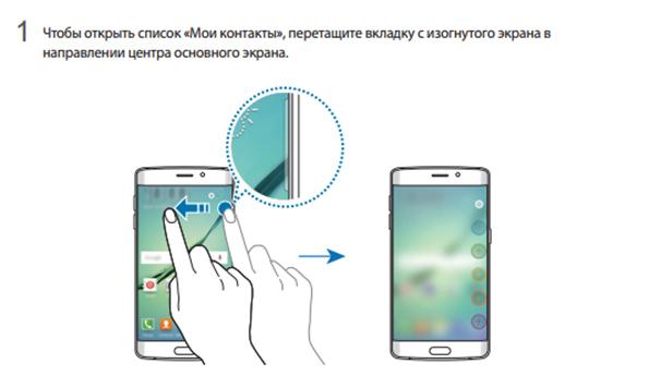 Инструкция Samsung Galaxy S6 Edge на русском