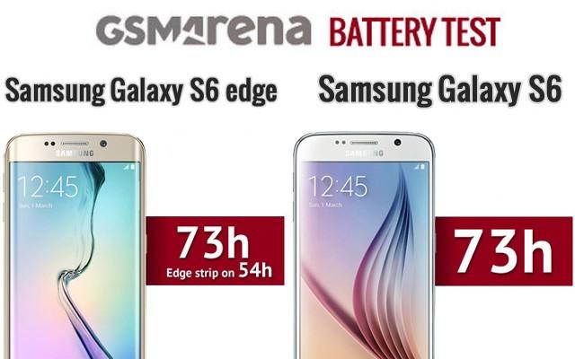 Тестыавтономной работы Samsung Galaxy S6 и Galaxy S6 Edge