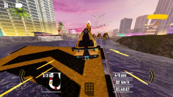 Driver Speedboat Paradise – гонщики на катерах для для Galaxy S6, S5, S4, S3, Note 3, Note 4, A3, A5, A7