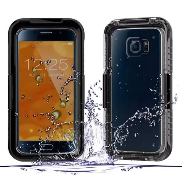 Аксессуар Чехол Samsung Galaxy S7 Edge Celly Laser Transparent-Black BCLS7EDS