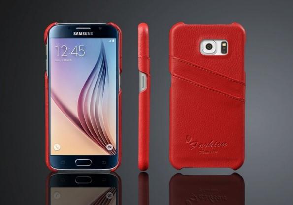 Кожаный кейс для Samsung Galaxy S6