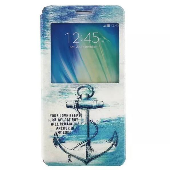 Samsung Galaxy A5 - кожаные чехлы с рисунками