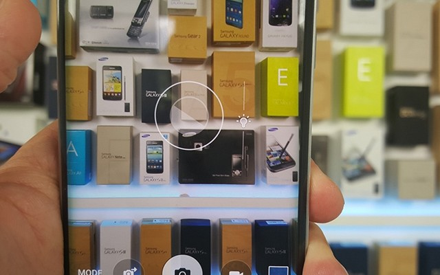 Настройка экспозиции в Galaxy S6 и S6 Edge