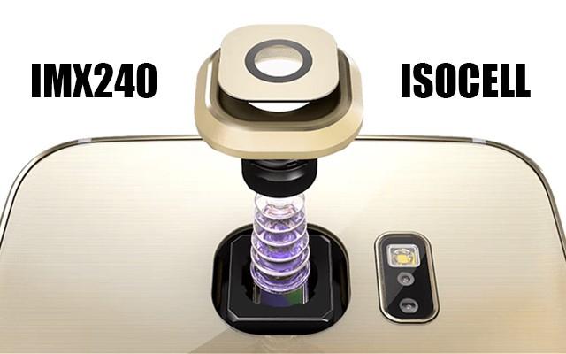 Сравнение модулей камеры IMX240 и ISOCELL в Галакси С6