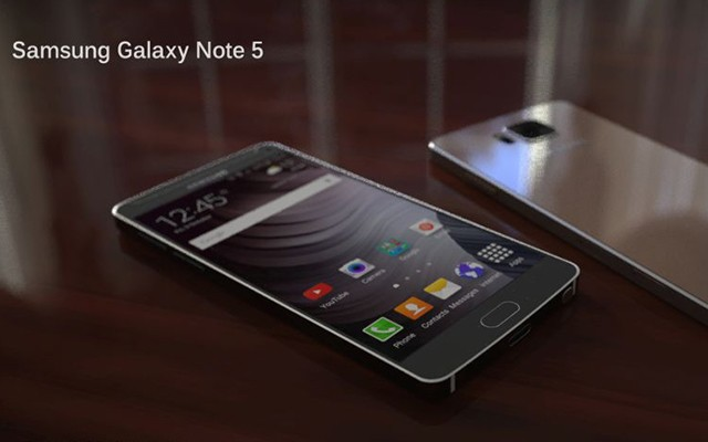 Samsung Galaxy Note 5 может выйти в июле