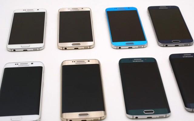 мировые продажи Galaxy S6