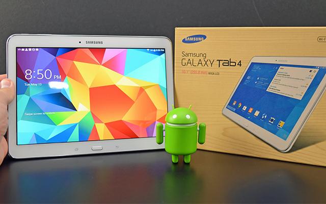 Новая прошивка Android 5 Liollipop на Galaxy Tab 4 10 1 Wi
