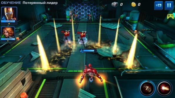 MARVEL Future Fight – герои комиксов для Galaxy S6, S5, S4, S3, Note 3, Note 4, A3, A5, A7