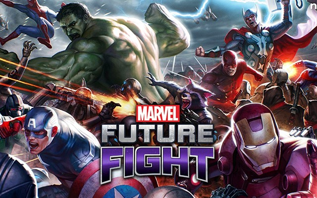 MARVEL Future Fight – герои комиксов для Galaxy S6, S5, S4, S3, Note 3, Note 4, A3, A5, A7