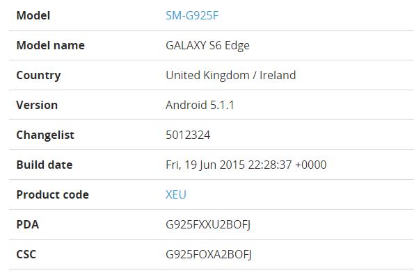 Android 5.1.1 для Galaxy S6 и S6 Edge уже выходит в Европе