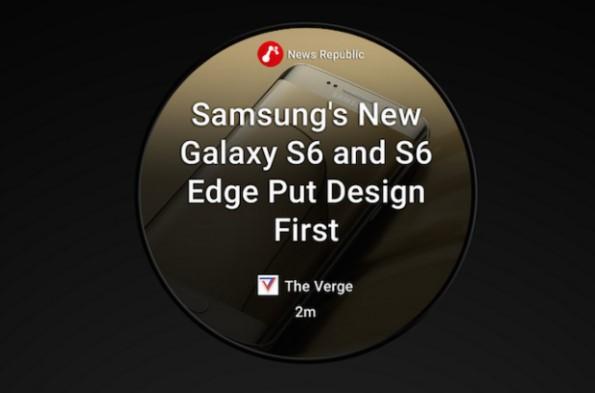 Samsung Gear A - новые сервисы