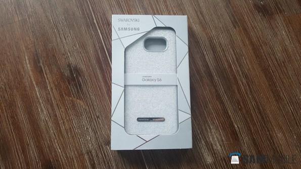 кейс Swarovski Crystal Protective Cover для Самсунг Галакси С6