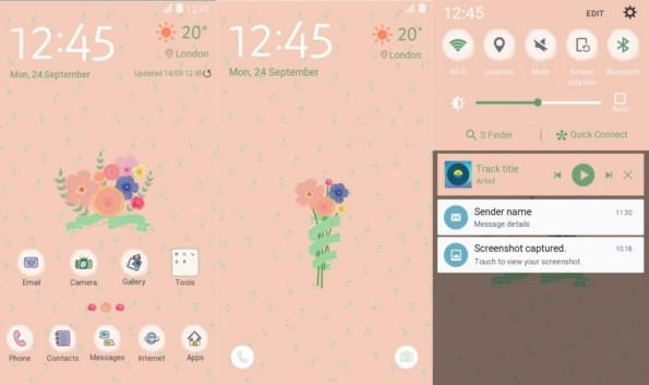 Новые темы на Galaxy S6, S6 Edge, Galaxy A