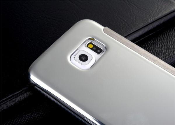 Samsung Clear Cover для Samsung Galaxy S6 серебро