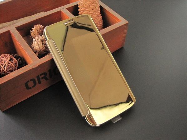 Samsung Clear Cover кейс для Samsung Galaxy S6 - золотистые