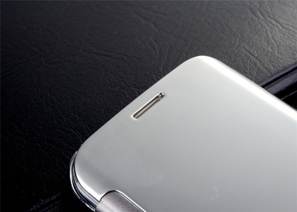 Samsung Clear Cover чехол - серебристый