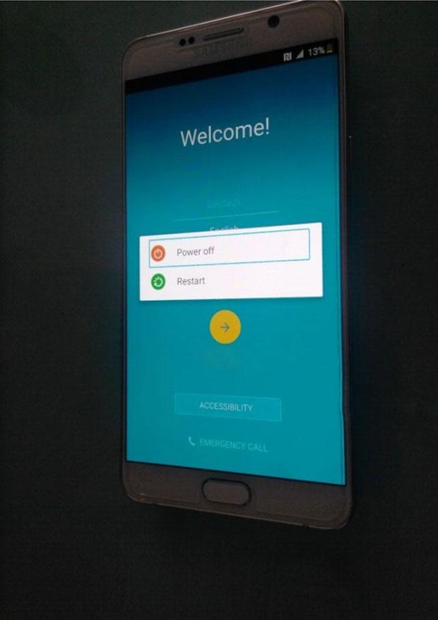 Реальные фото Galaxy Note 5 и Galaxy S6+