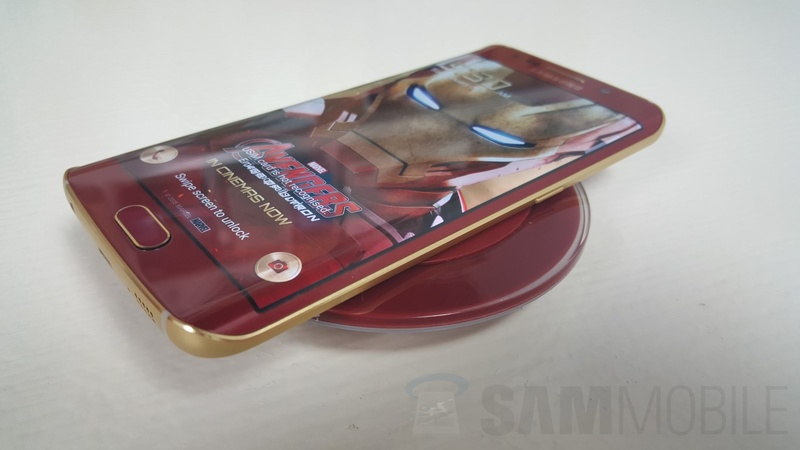 Samsung Galaxy S6 edge Iron Man Edition - фотографии