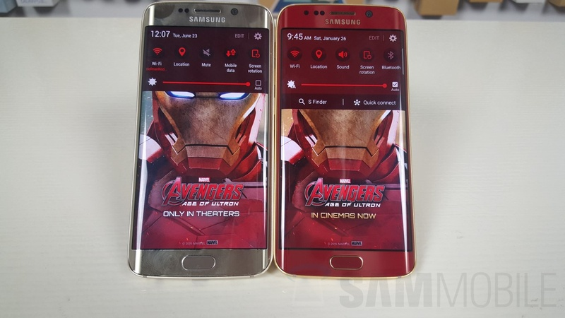 Фотографии Samsung Galaxy S6 edge Iron Man Edition