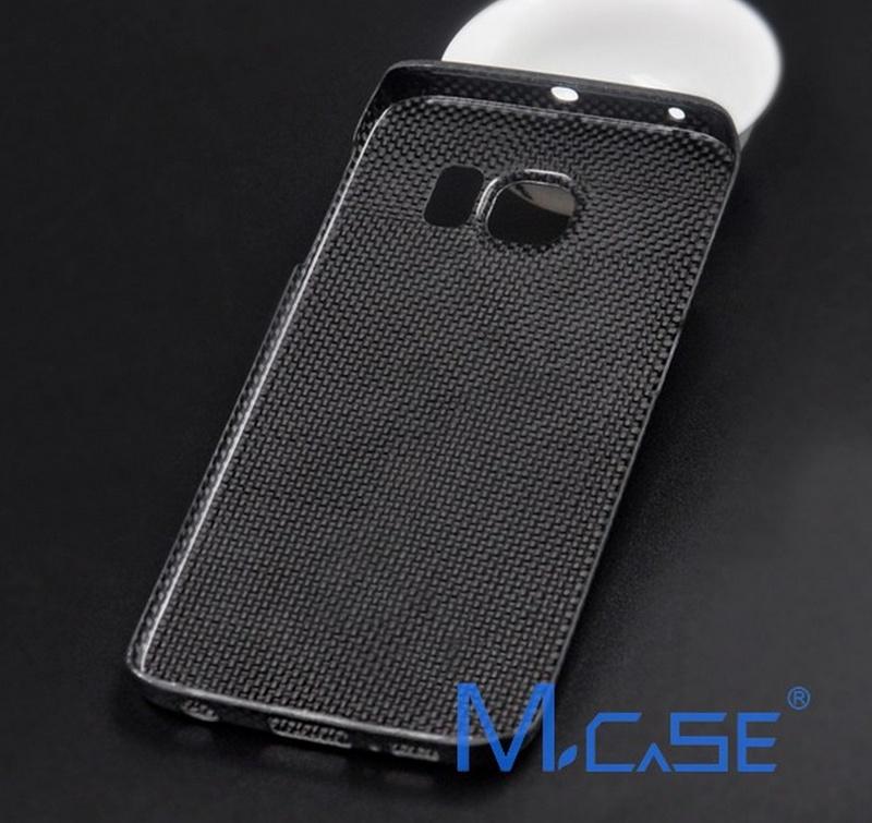 Карбоновый бампер на Galaxy S6