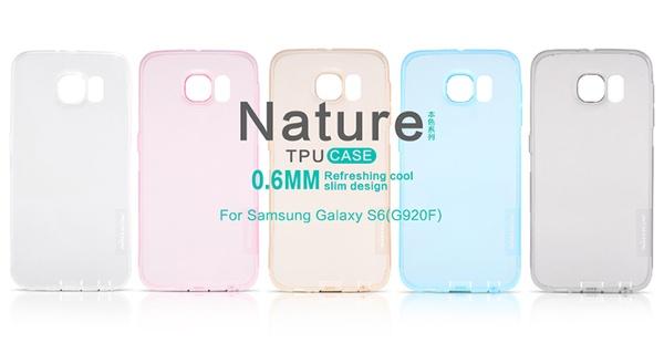 Nillkin чехол из силикона к Samsung Galaxy S6