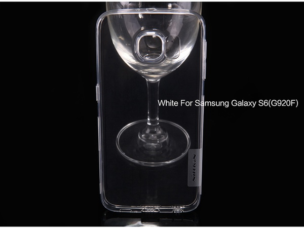 Nillkin чехол из силикона к Samsung Galaxy S6 - белый