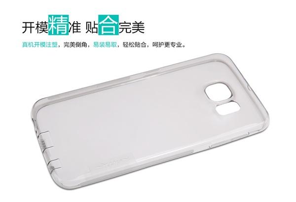 Nillkin чехол из силикона к Samsung Galaxy S6 - серый