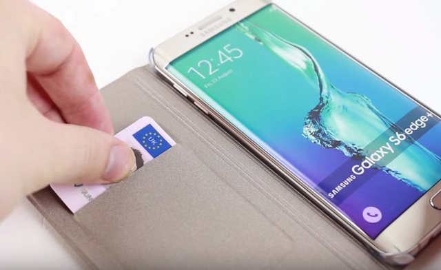 Чехол Flip Wallet Cover для Samsung Galaxy S6 Edge+