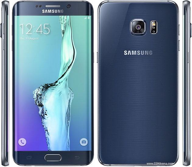 Фото Samsung Galaxy S6 Edge+ - синий