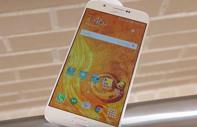 Samsung Galaxy A8 лицевая панель