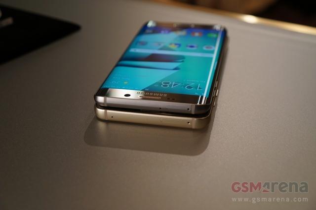 Официальные фото Galaxy Note 5 и Galaxy S6 Edge+