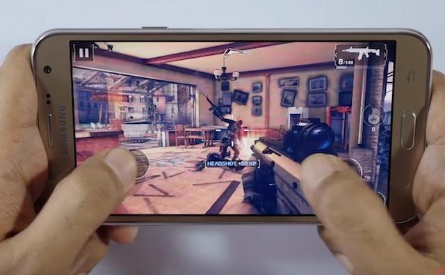 Как ведет себя Samsung Galaxy J7 в играх