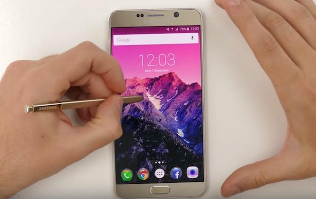Новый S Pen в Galaxy Note 5 - основные возможности