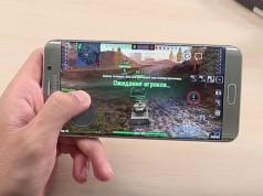 Samsung Galaxy S6 Edge+ в играх