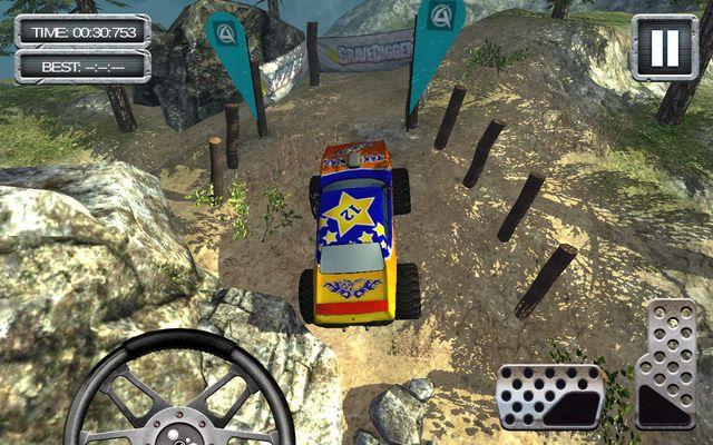 GraveDigger 4x4 Hill Climb 3D для Samsung Galaxy