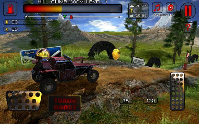 Hill Climb Racer Dirt Masters для Samsung Galaxy